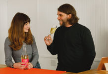 Frightened Rabbit star Grant Hutchison and wife Jayne launch cider shop