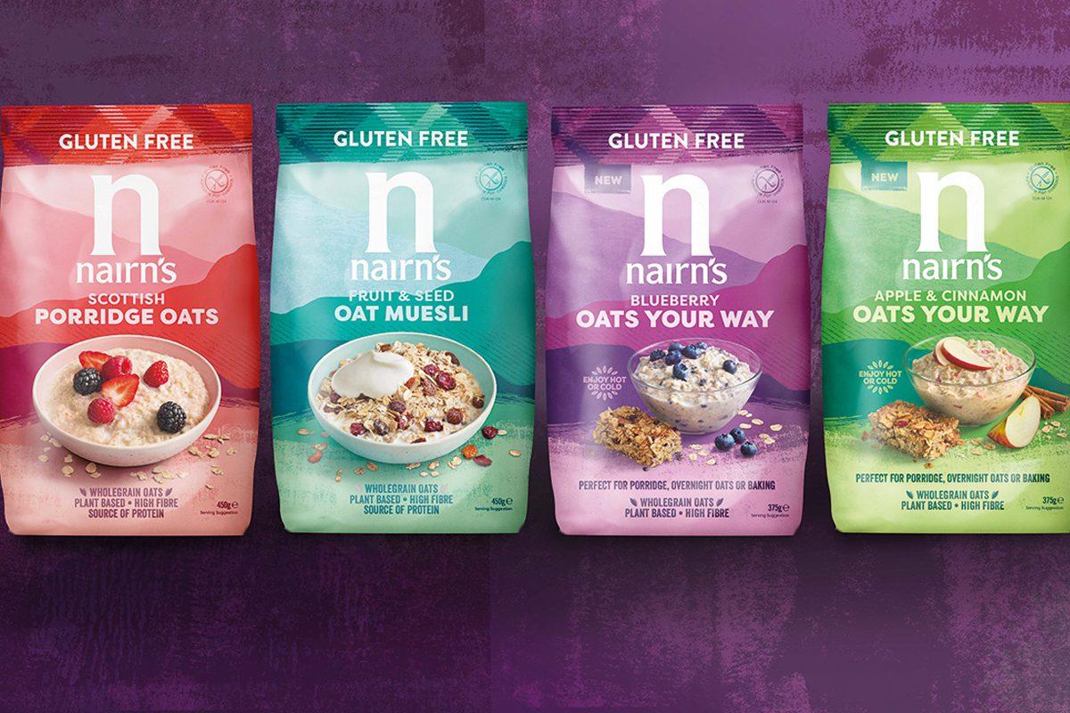 Nairn oats range