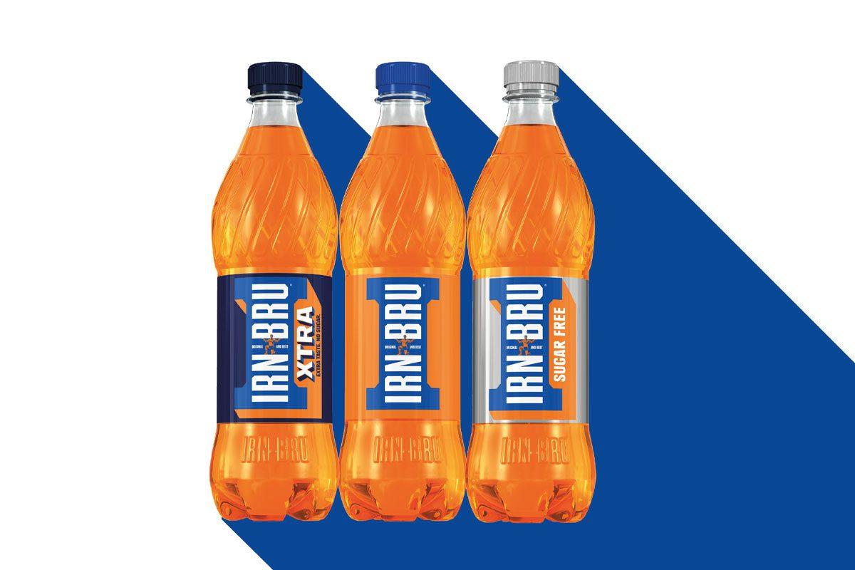 500ml Irn Bru bottles