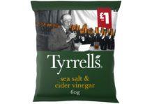 Tyrrells Sea Salt and Cider Vinegar Crisps