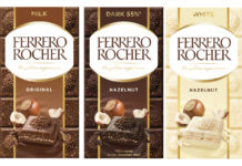 Ferrero Rocher's new bars
