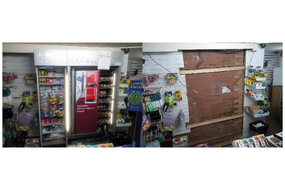 Before and after: Imperial removed tobacco gantries following convictions.