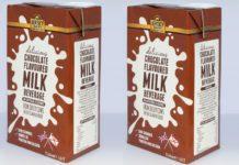 Jersey dairy chocolate flavoured milk