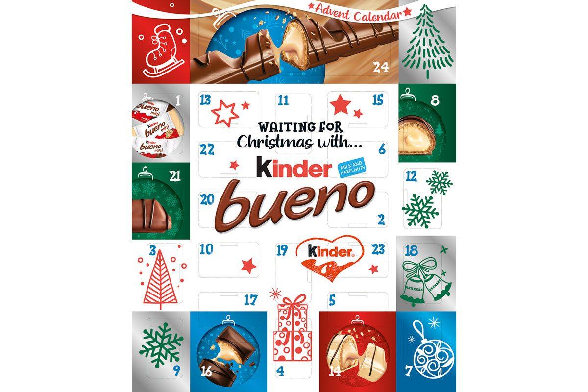 Kinder Bueno Advent Calendar