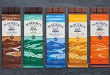 Mackie's new chocolate packs