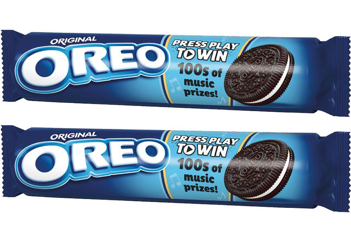 Packet or oreo cookies