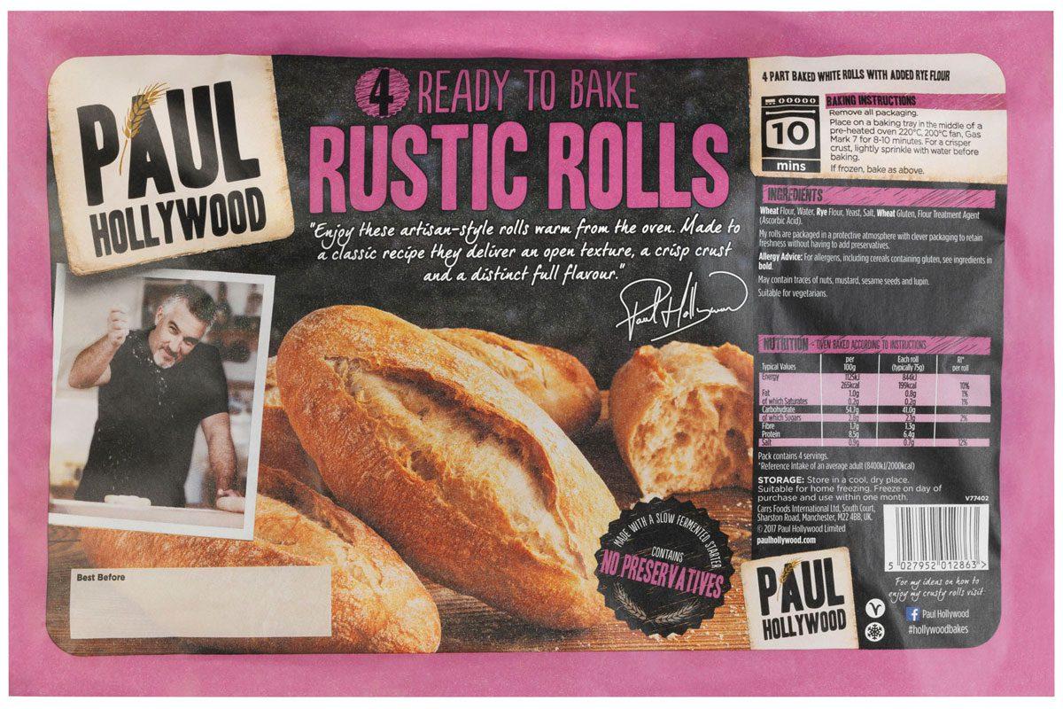 Paul Hollywood Rustic Rolls
