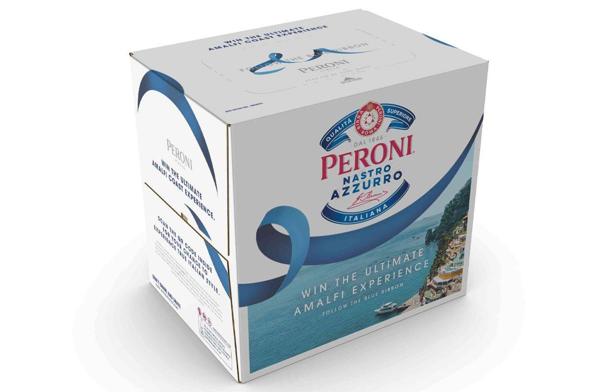 Peroni box with Amalfi experience promotion