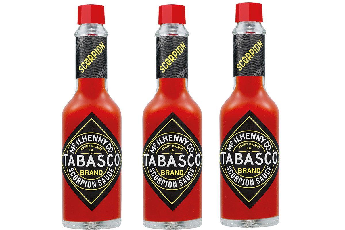 Tabasco Hot Sauce Packaging