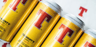Tennent's lager cans
