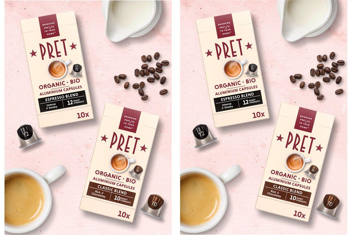 Pret Coffee Pods