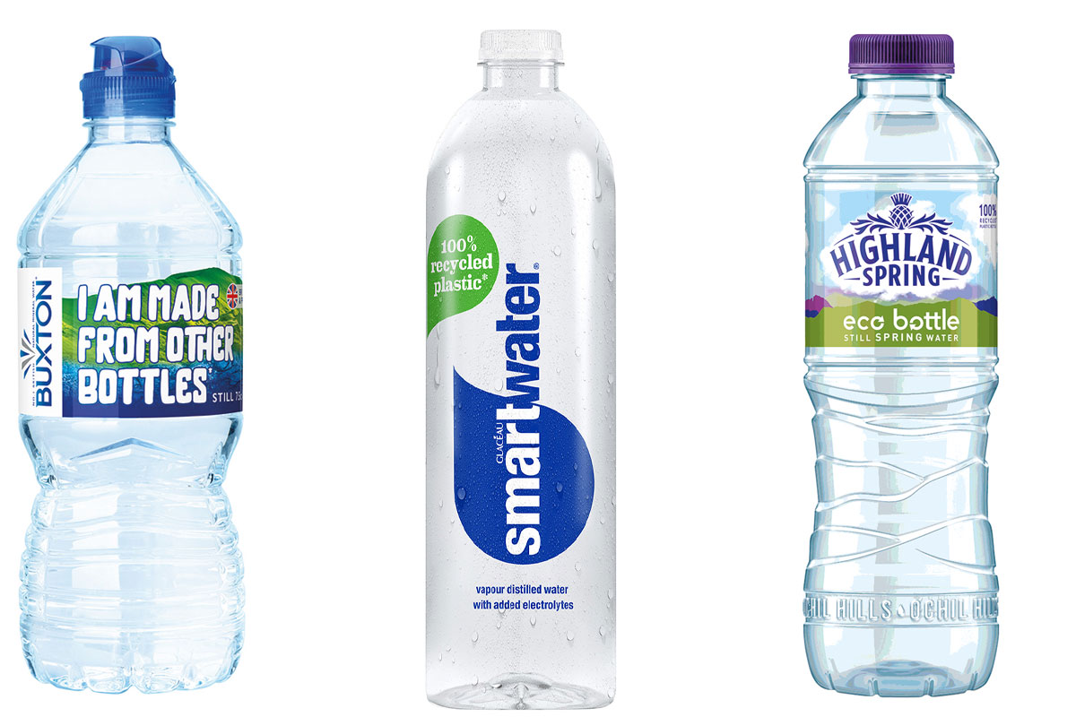 smaller recycled water bottles