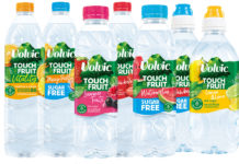 Volvic Touch of Fruit new packs