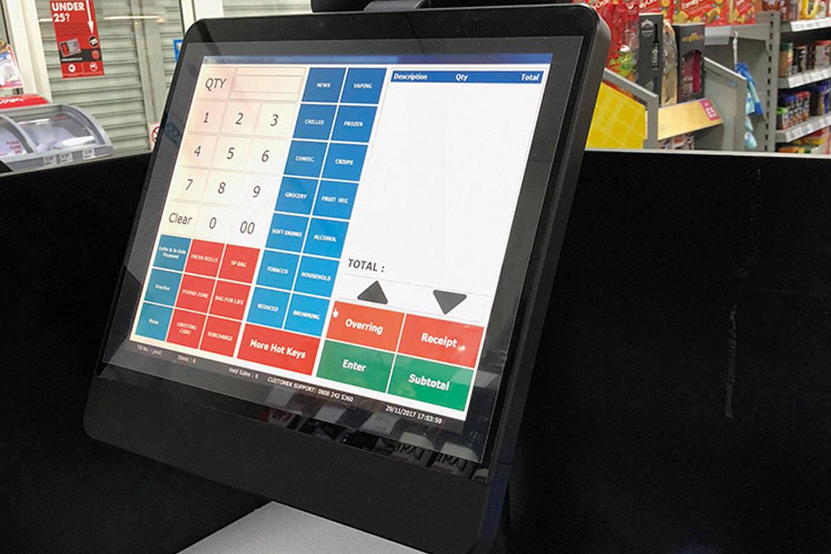 Ashraf developed his first EPOS solution in the back of his computer shop.