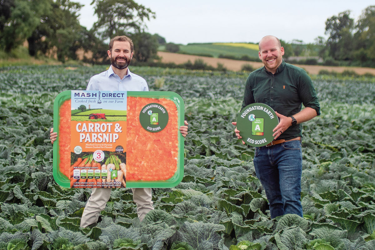 Mash Direct has launched new eco-friendly traffic light system packaging.