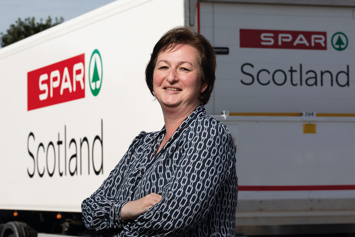 Paula Middleton of Spar Scotland