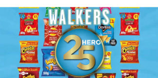 PepsiCo launched its new Hero 25 category strategy for Walkers earlier this year.