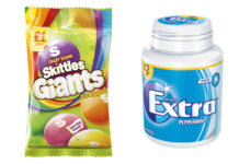 Skittles and Extra Mints