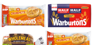 Warburtons has relaunched its PMP range with three price-marked variants.